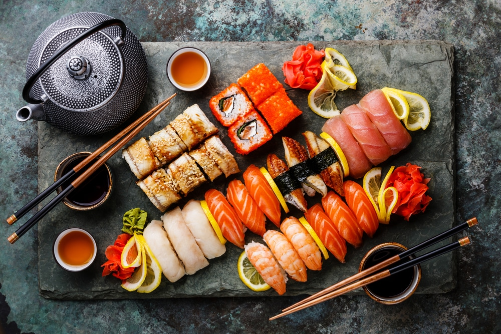 is sushi healthy for weight loss