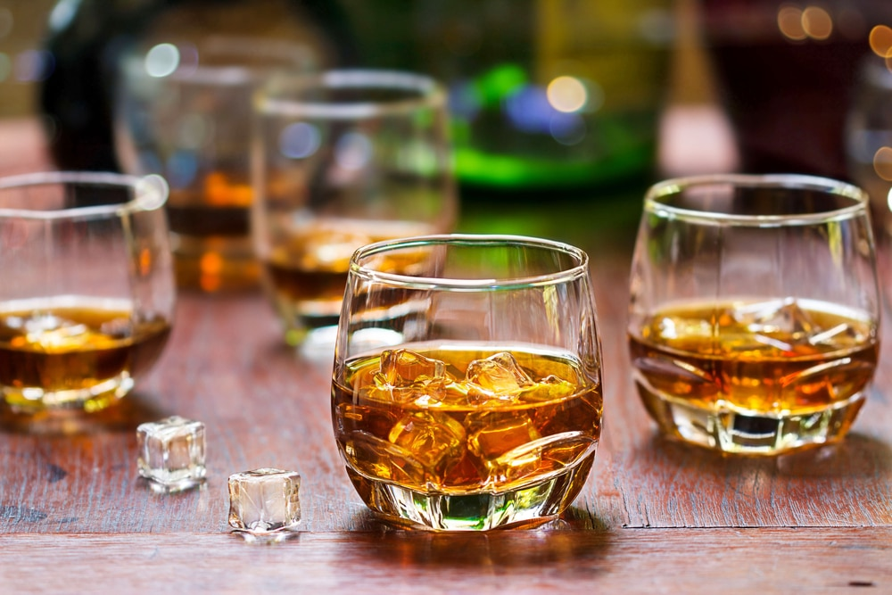 does whiskey make you fat