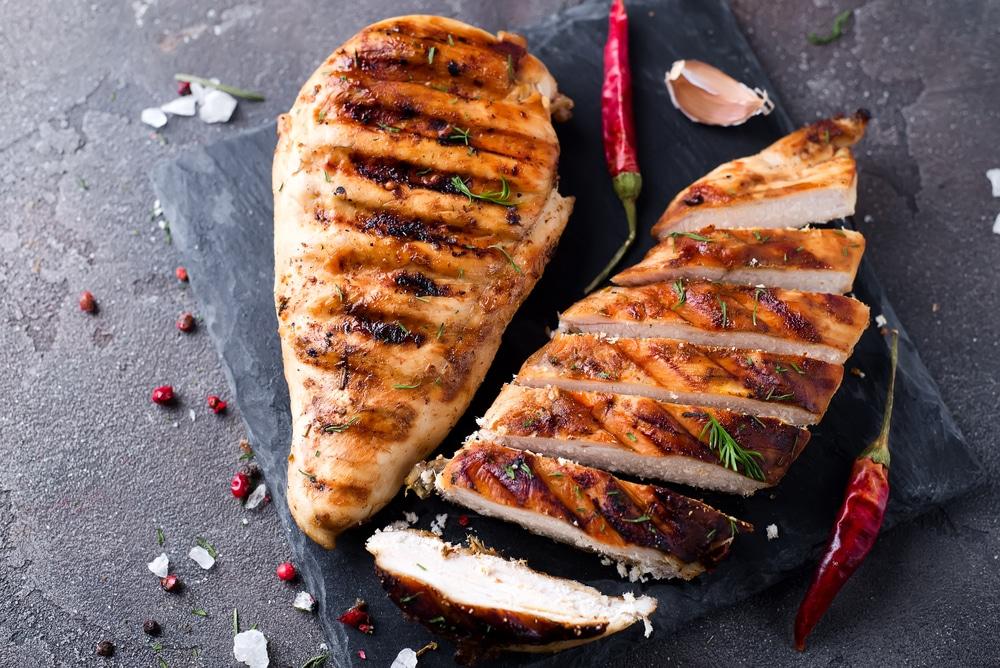 chicken breast protein