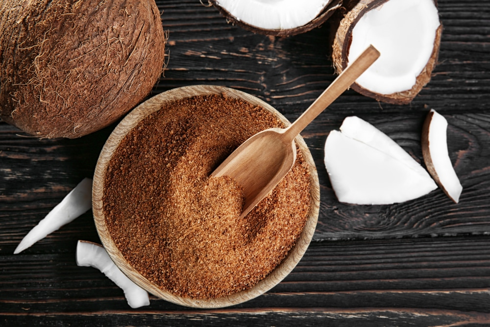 carbs in coconut sugar vs stevia