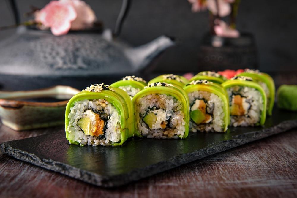 sushi without fish