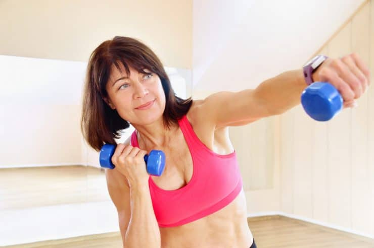 losing belly fat after 65 exercises