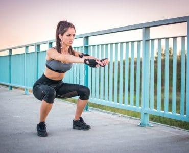 bodyweight squat variations