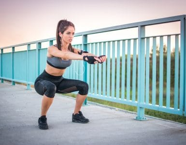 bodyweight squat variations