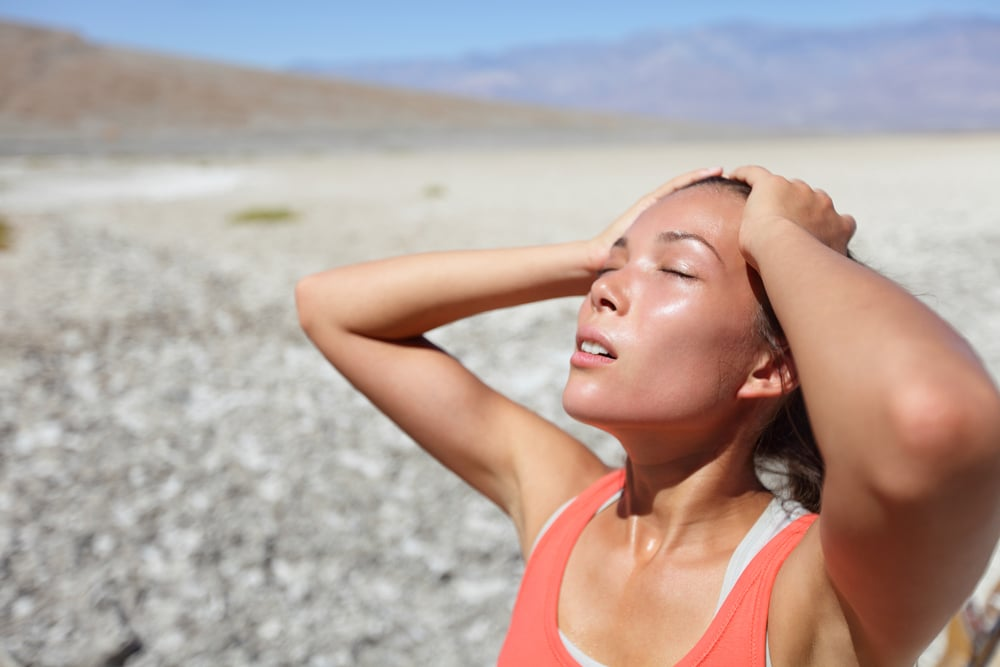 do you burn more calories in the heat