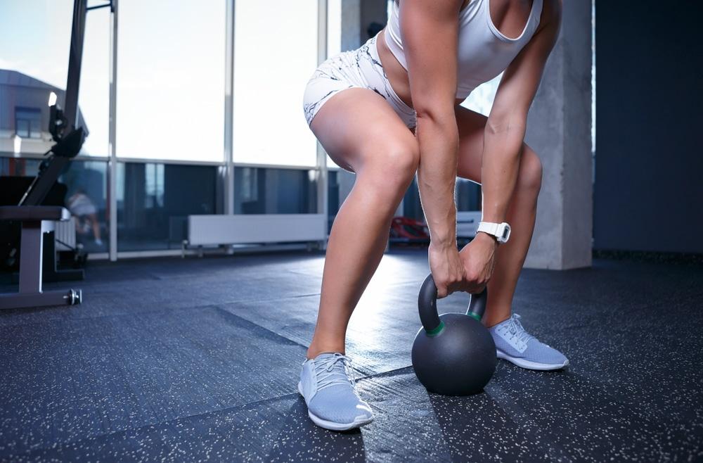 bench squat deadlift press strength program for women