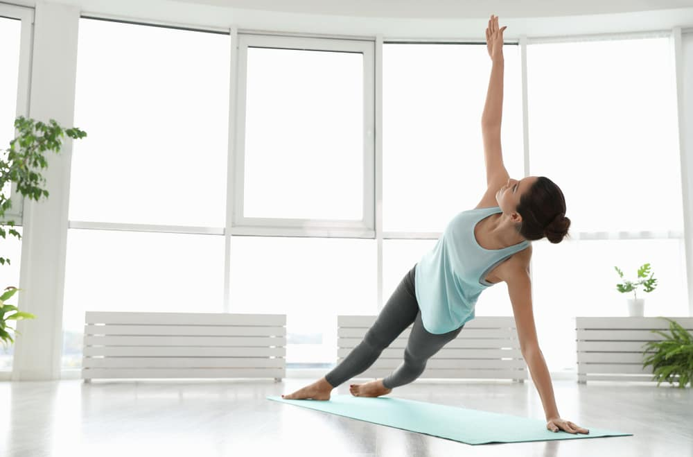 side plank hip lifts