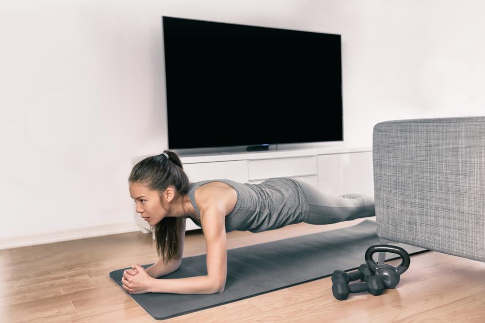 doing planks for back pain