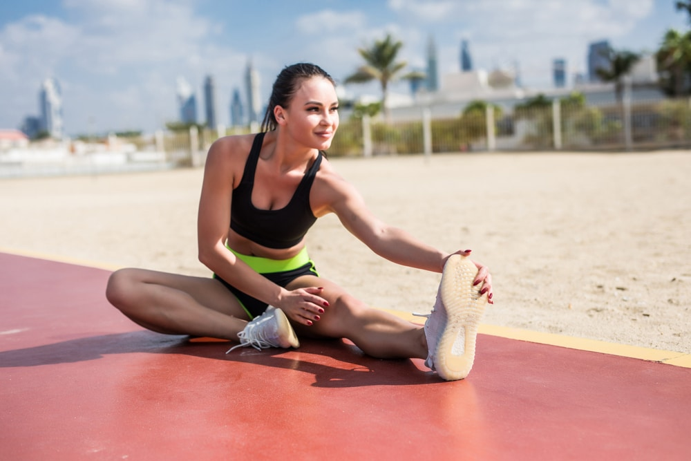 pre workout stretches for beginners
