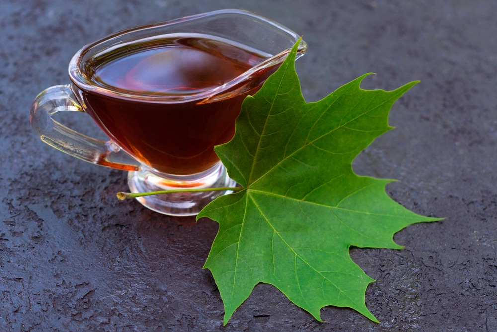 pure maple syrup vs honey