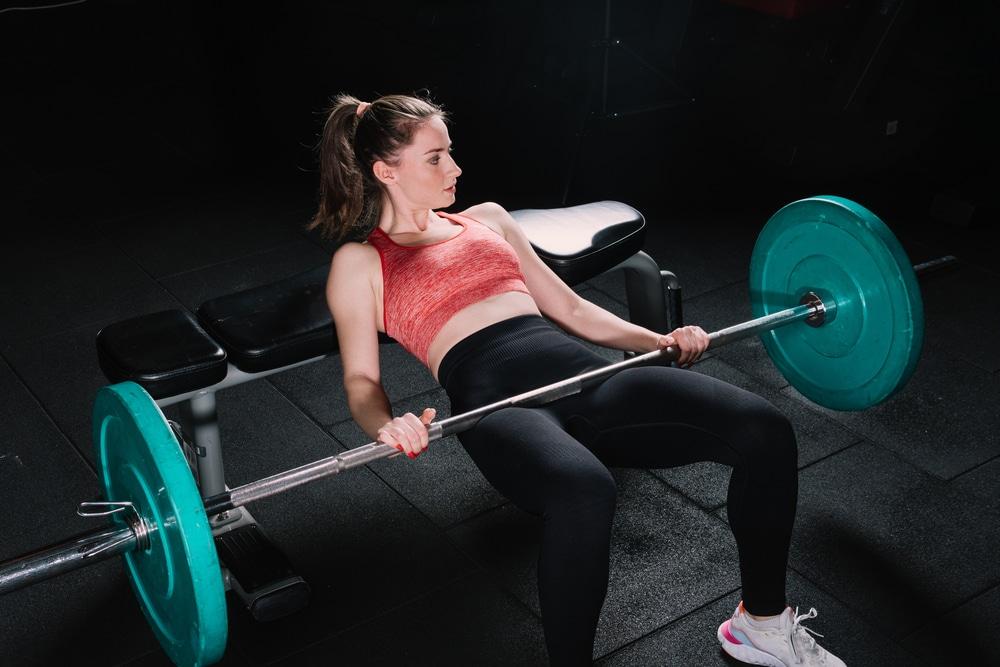 barbell glute bridge vs hip thrust
