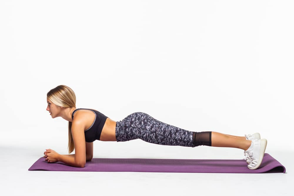 doing planks everyday