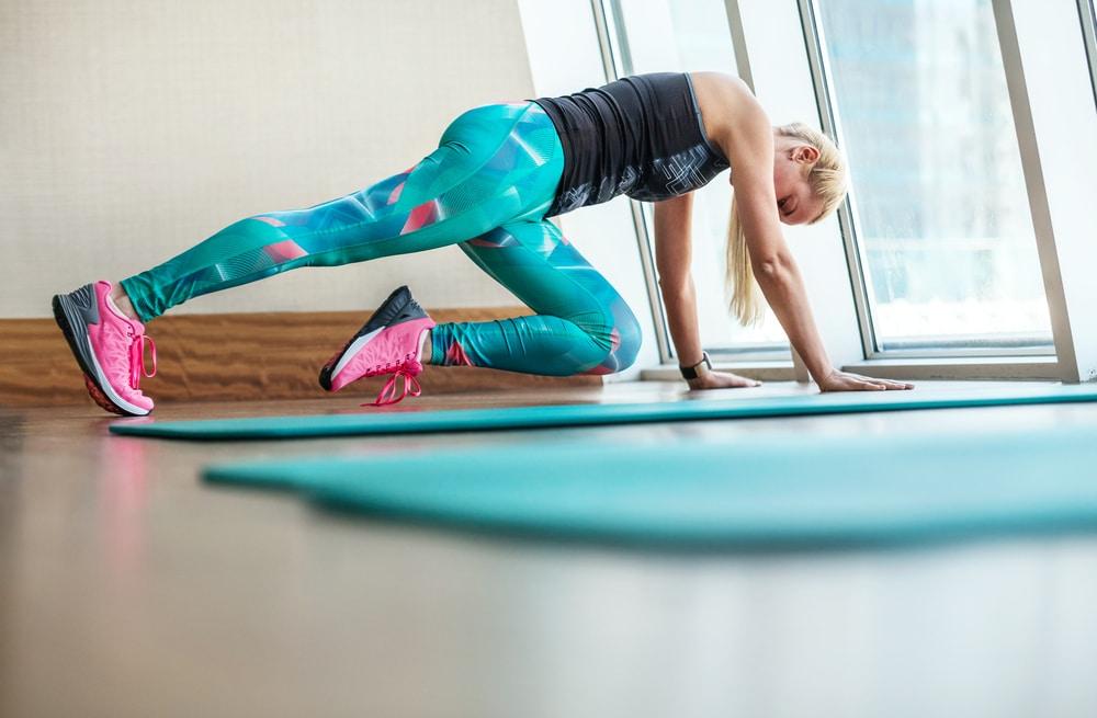 dynamic leg stretching
