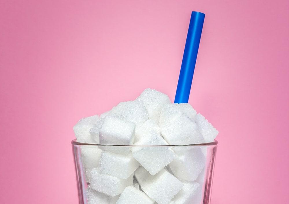 sugar intake per day