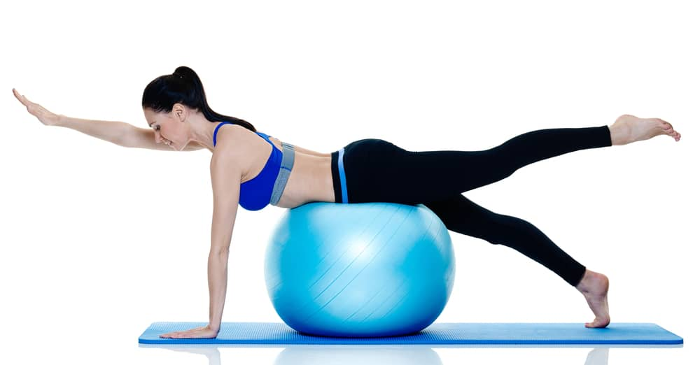pilates exercises with ball for beginners
