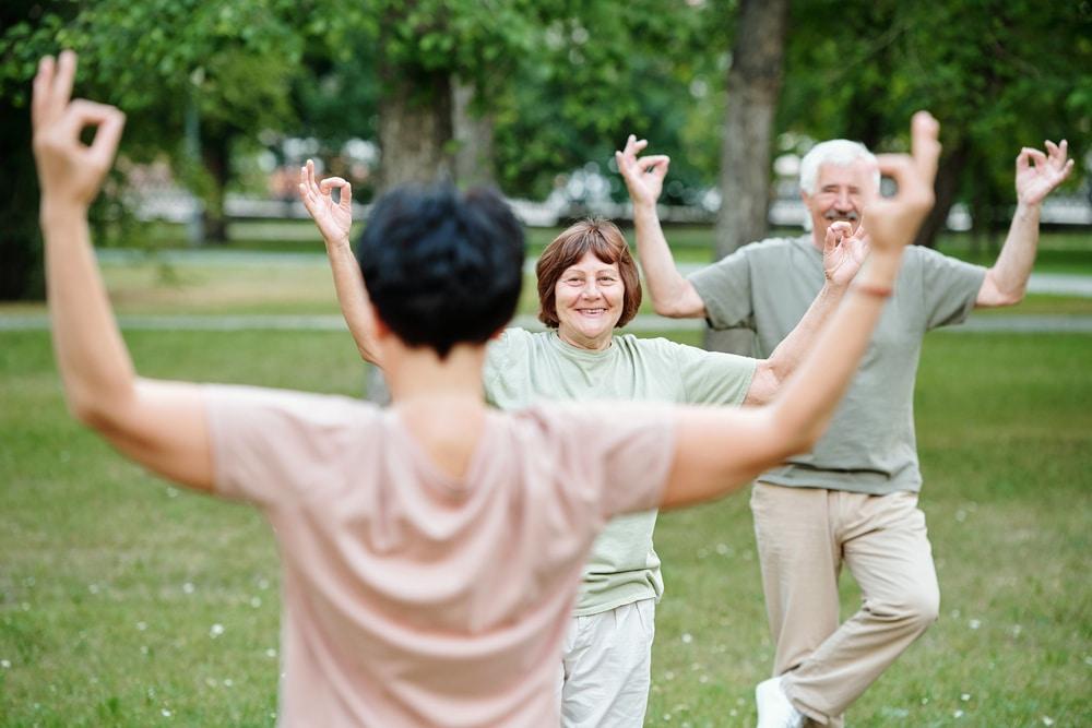 beginning yoga excercises for seniors