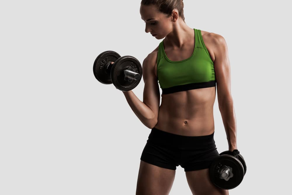 5 day dumbell workout plans with minimal equipment women