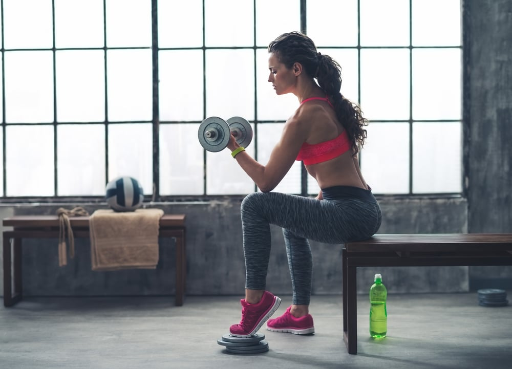 5 day per week dumbell workout