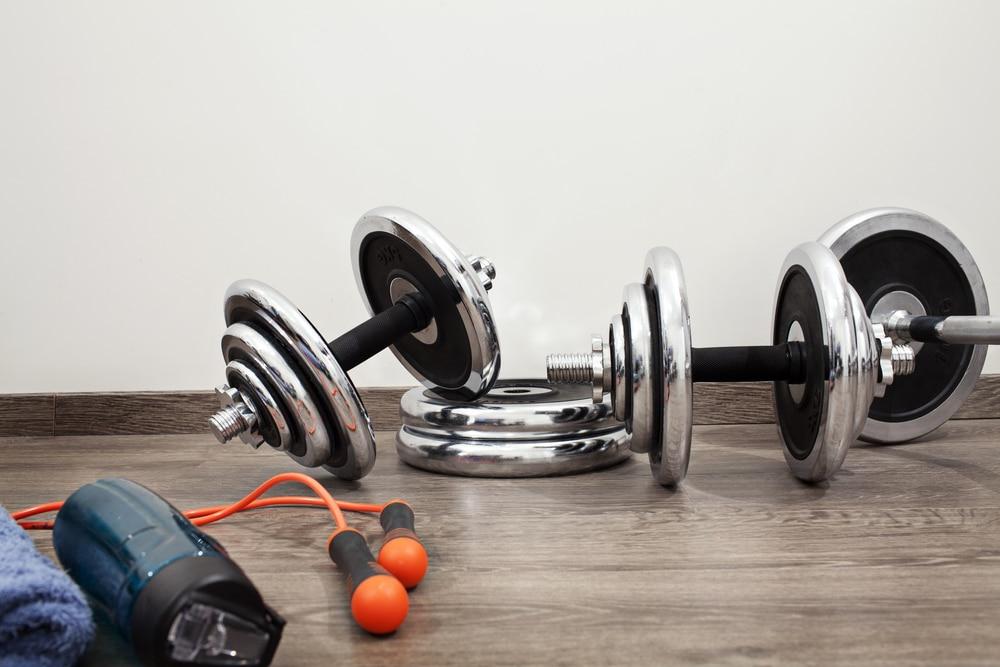 5 day workout split dumbell barbell