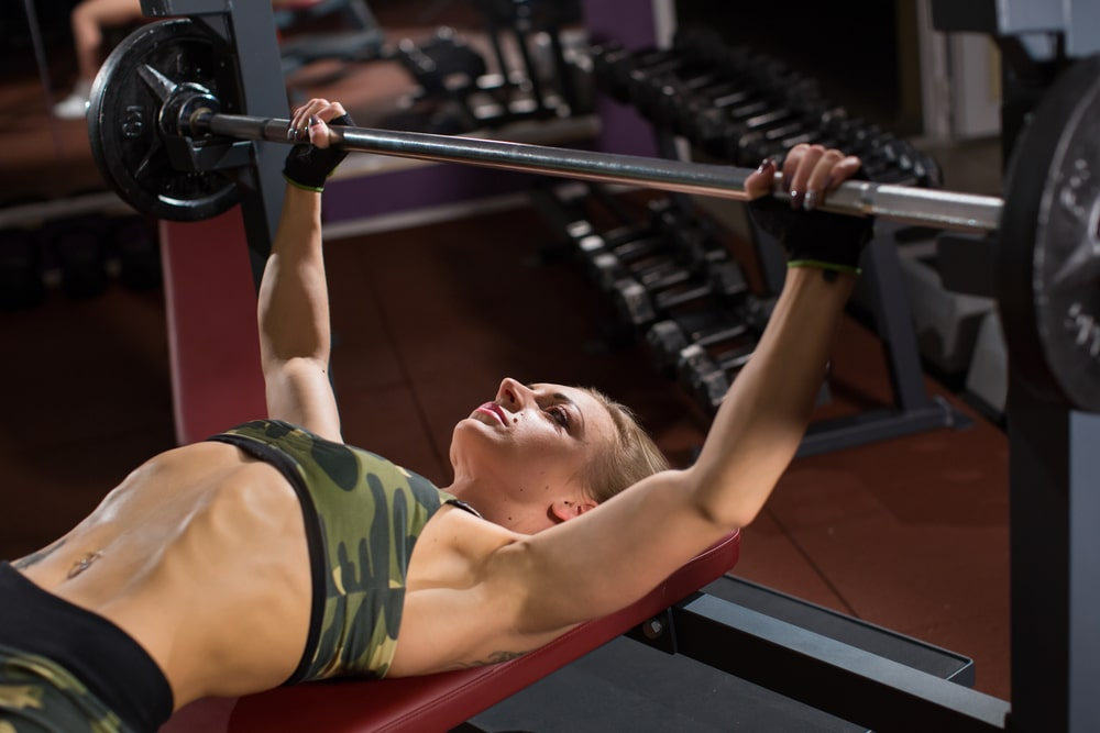 dumbbell bench press vs push ups