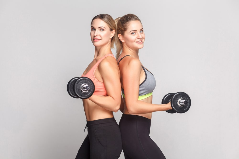 5 day dumbell workout plans women
