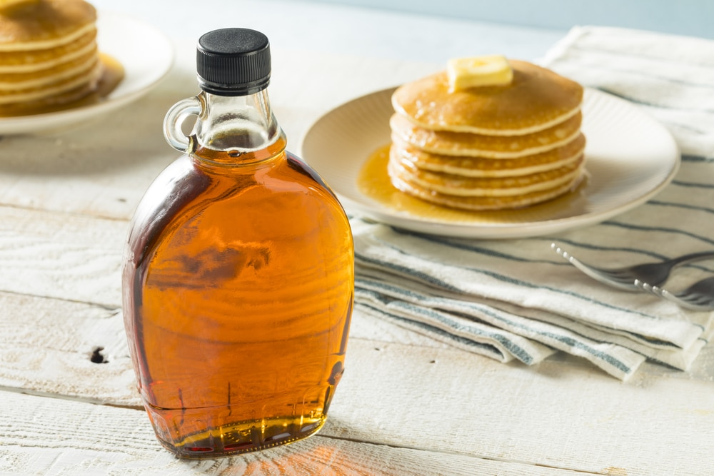 substitute coconut sugar for maple syrup