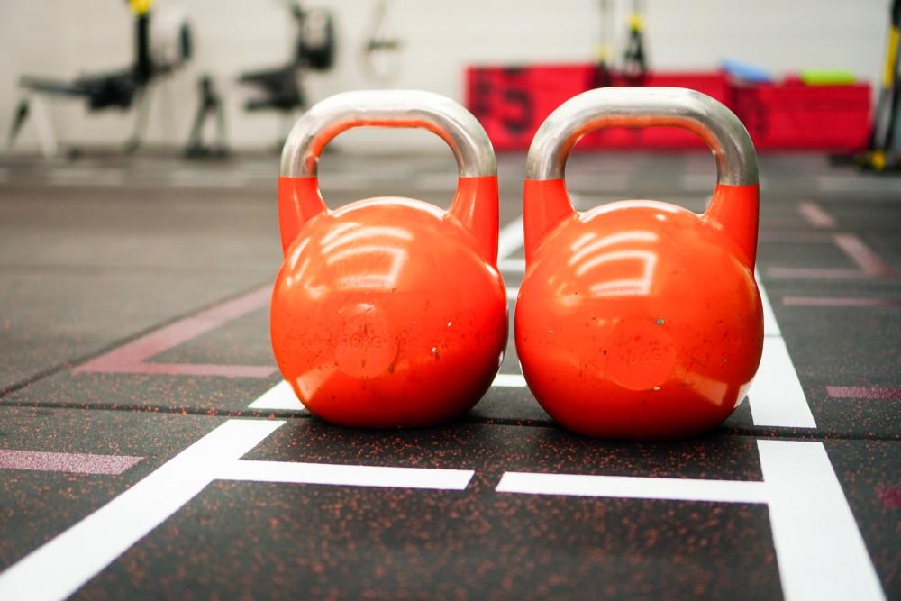 kettlebell leg and shoulder workout
