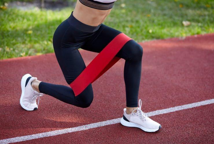 resistance band butt workout benefits