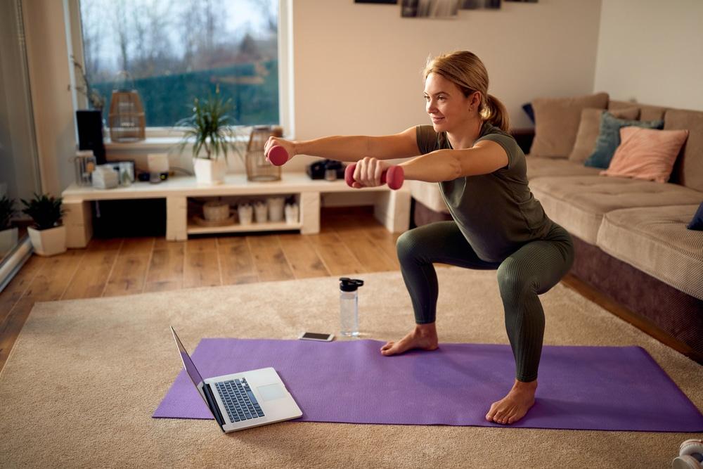 28 days squat challenge