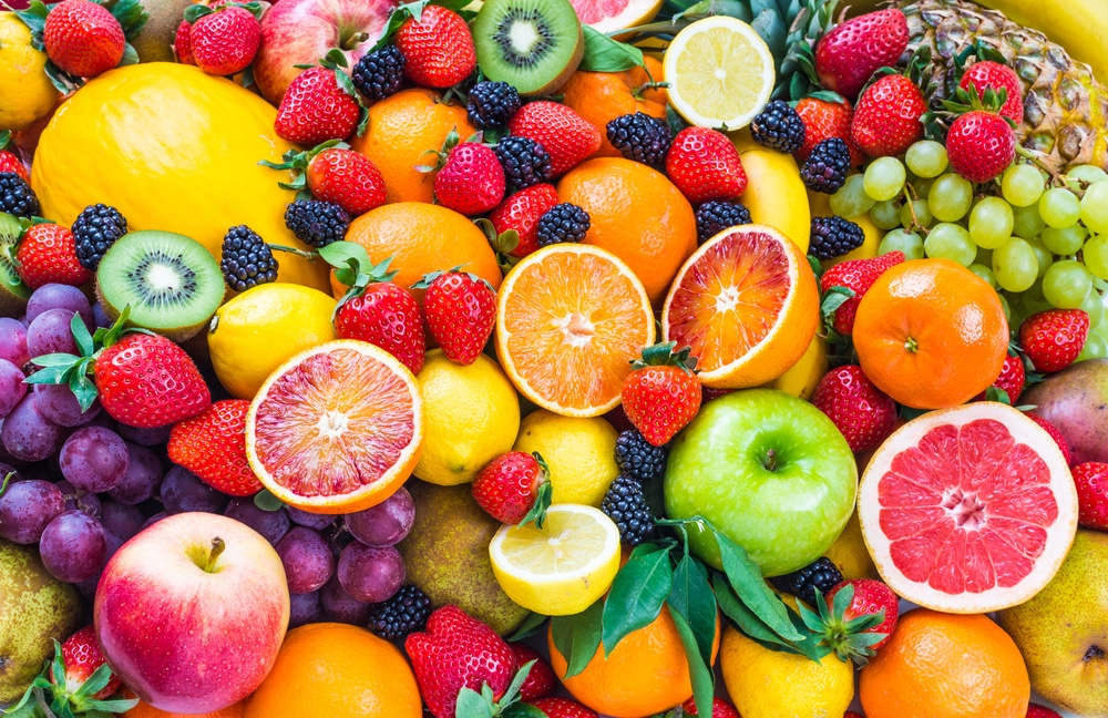 foods with low fructose