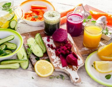 7 day detox diet plan fruits and vegetables