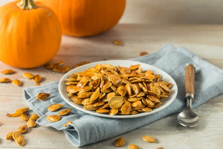 weight loss eating grapes and pumpkin seeds