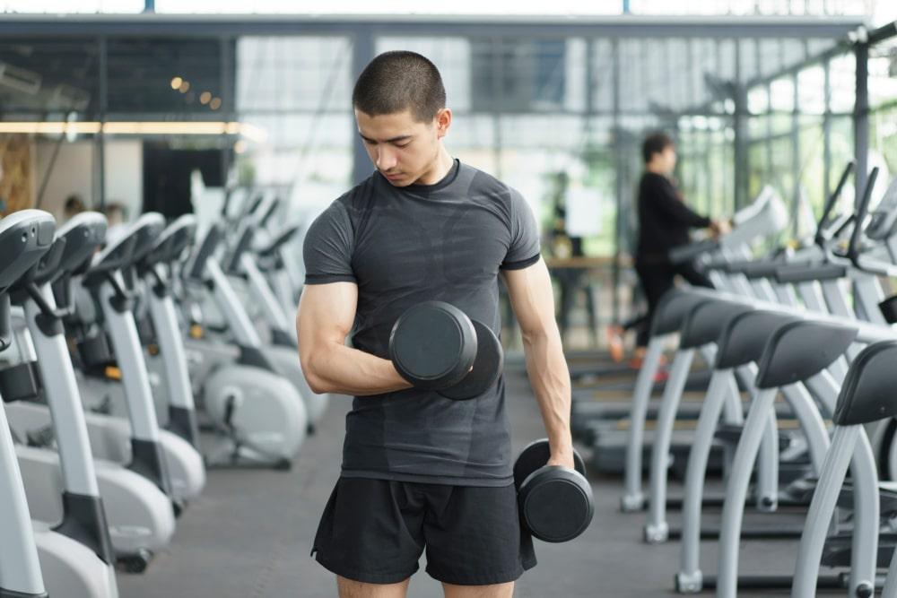 4 day split dumbbell workout