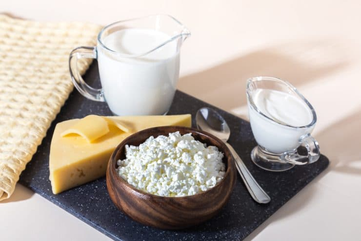 list of foods with casein