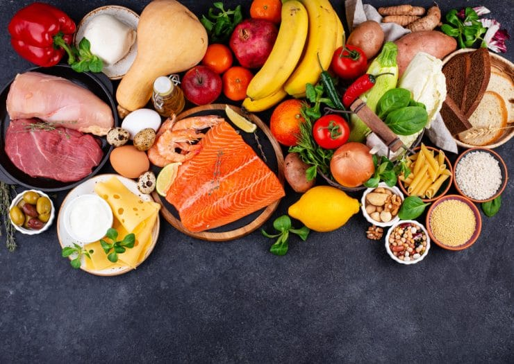 7 day meal plan for muscle gain female