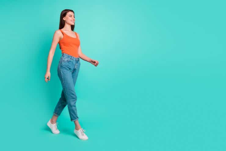 does walking help period cramps
