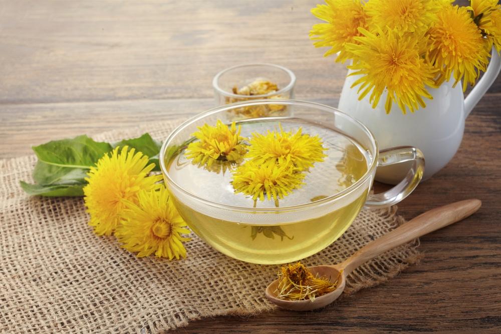 dandelion tea cranberry detox