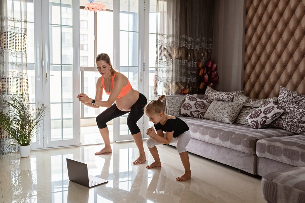 pregnancy first trimester exercise routine