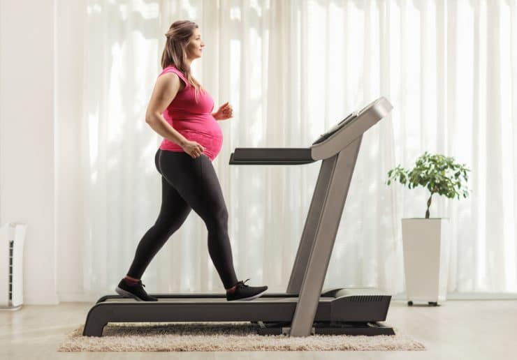 treadmill workout for pregnancy