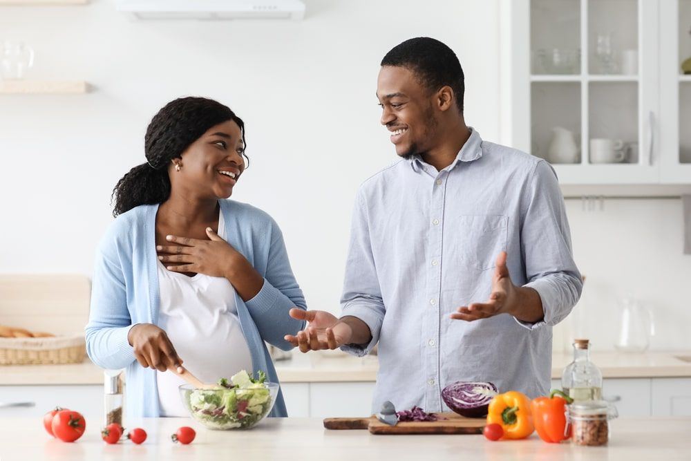 healthy pregnancy diet menu