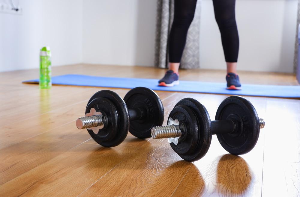 3 day split dumbbell workout