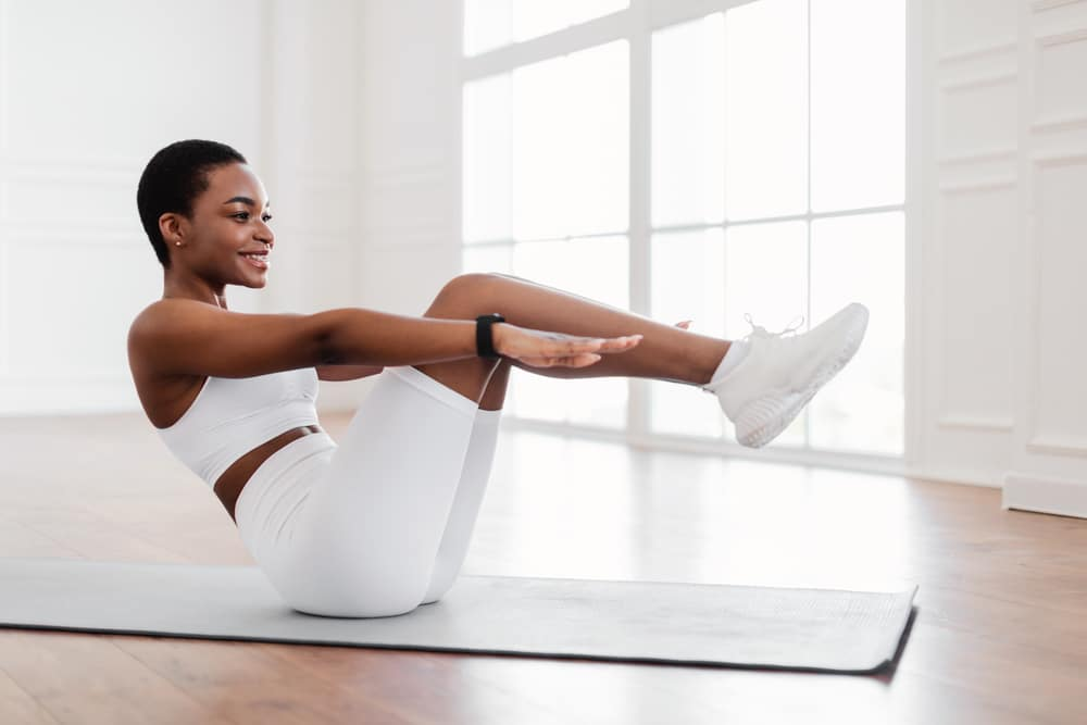 exercise to lose belly fat in 1 week at home