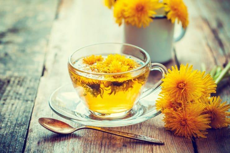 dandelion tea detox