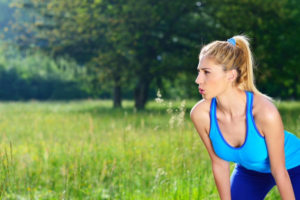 breathing during exercise