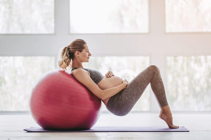 exercise during first trimester running