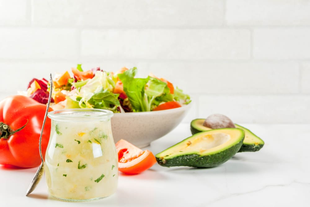 salad recipes for low carb, meatless diets