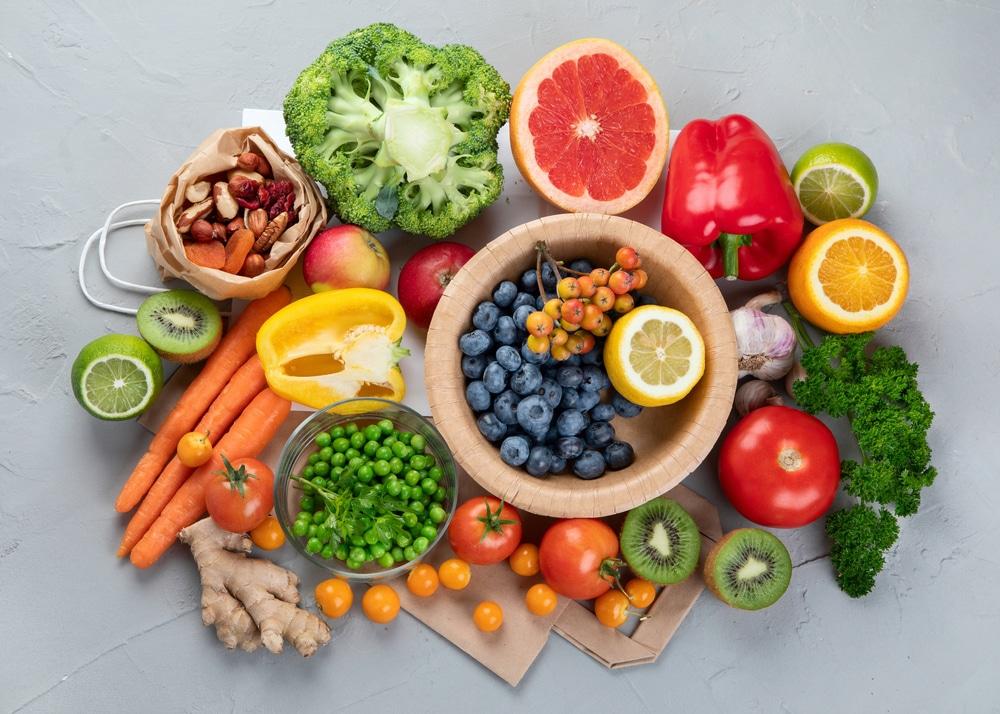 high fiber low calorie foods chart