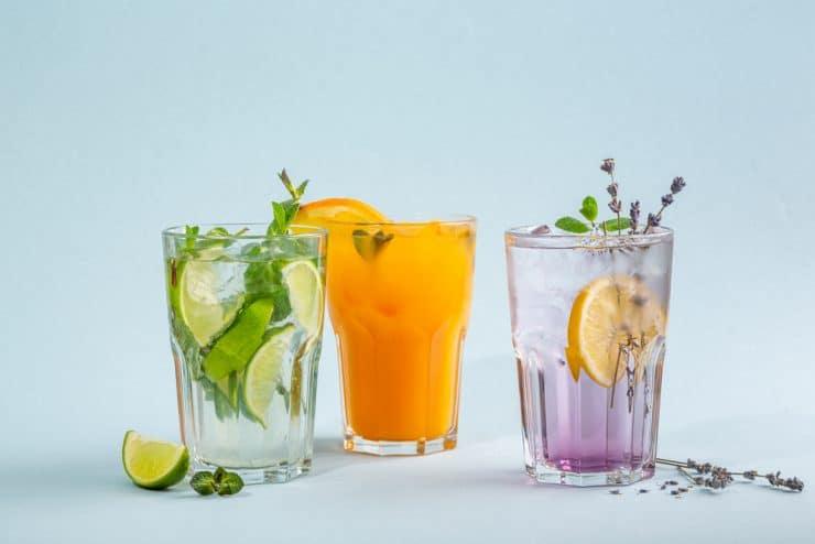 lemonade while fasting