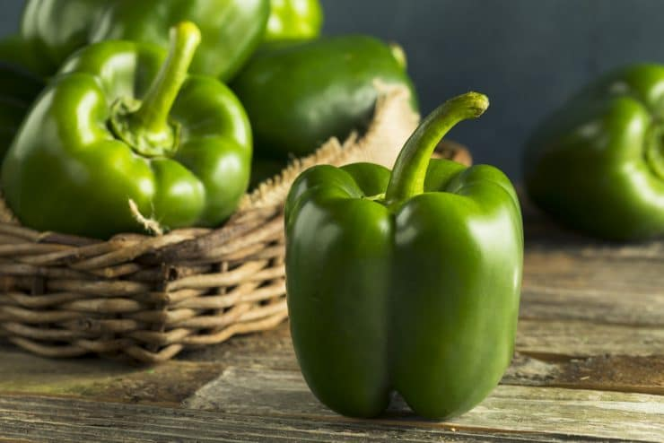 are green peppers good for you