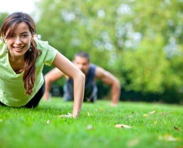 2-day split workout